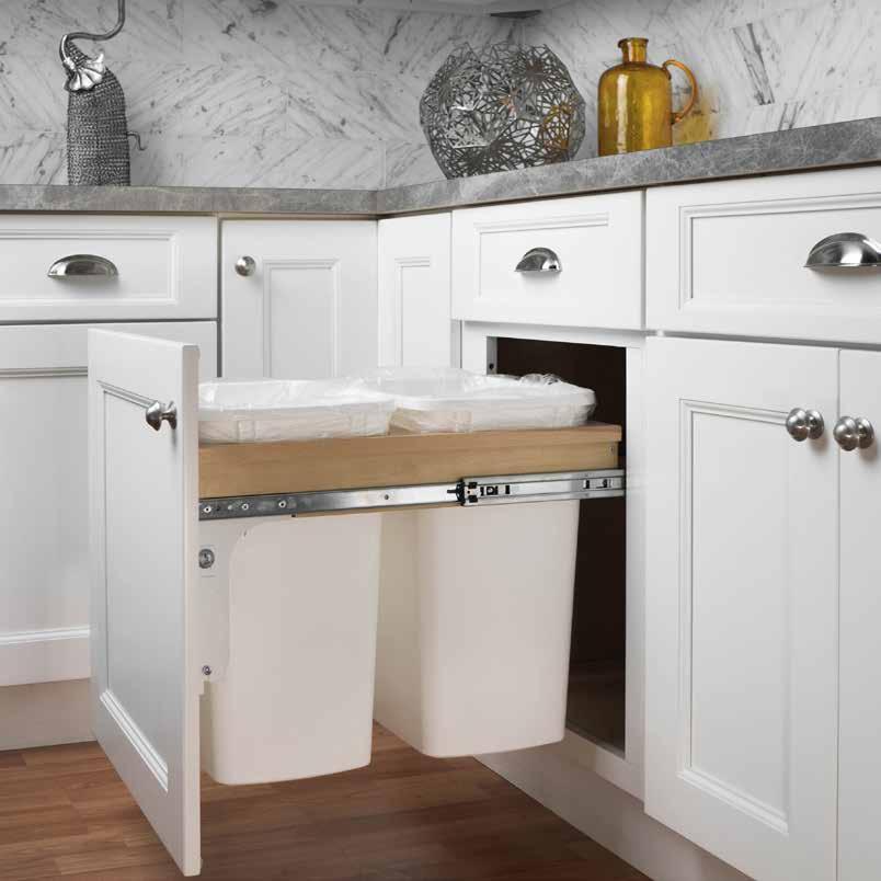Kitchen Cabinet Upgrades: Fabuwood Cabinet Accessories