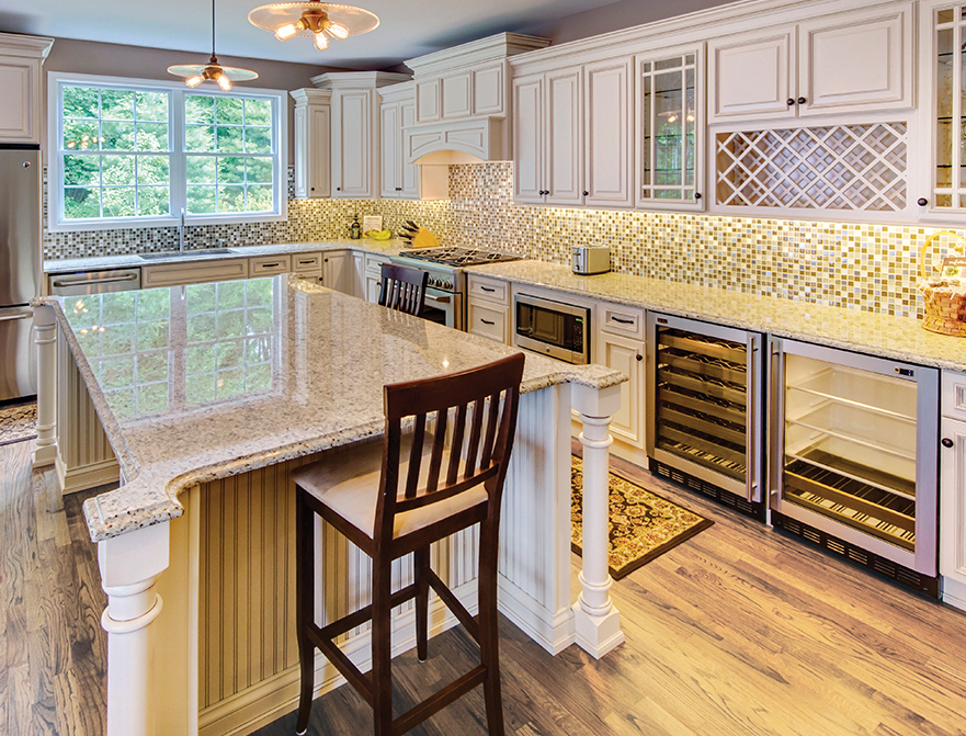 Wellington-Ivory-Kitchen - Forever Kitchen Cabinets